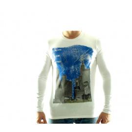 CALVIN KLEIN Tričko cmp84q Blanc