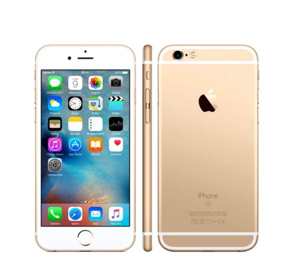 Apple iPhone 6S 64GB Gold Kategorie: B