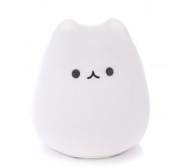 Aga4Kids Dětská stolní LED lampička Kočka