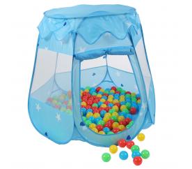 Kiduku Dětský hrací stan s míčky Blue
