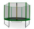 Aga SPORT PRO Trampolína 305 cm Dark Green + ochranná síť