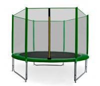 Aga SPORT PRO Trampolína 305 cm Dark Green + ochranná sieť