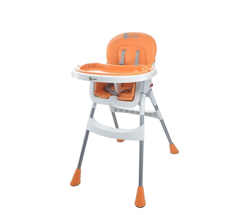 Clamaro Jídelní židlička BABY 2v1 Orange