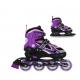Nils Extreme Detské korčule 2v1 NF18188 Violet