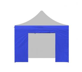 Aga oldalfal ajtóval PARTY 3x3 m Blue