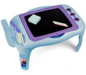 Disney Ledové království Dětský stoleček s oboustranou tabulí