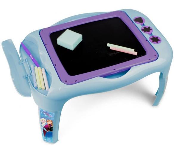 Darpeje Ledové království Dětský stoleček s oboustranou tabulí
