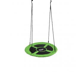 Aga Závesný hojdacia kruh 100 cm Zelený
