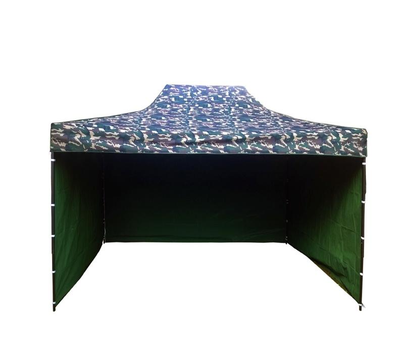 Aga Prodejní stánek 3S POP UP 3x4,5 m Army