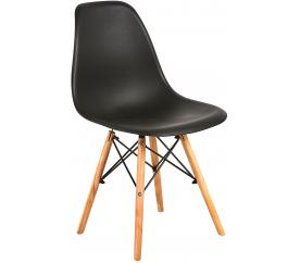 Aga Krzesło skandynawskie nowoczesne Black