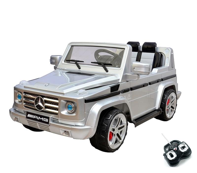 RCT Elektrické autíčko MERCEDES AMG DMD-G55 EXL 12V Silver