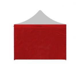 Aga Ściana boczna do namiotów PARTY 3x4,5 m Red