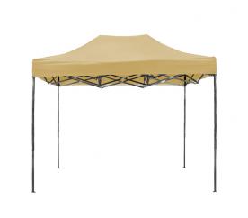 Aga pót tető POP UP 3x6 m Beige