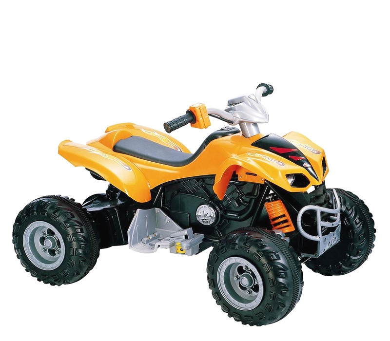 RCT Elektrická čtyřkolka KL789 12V Orange