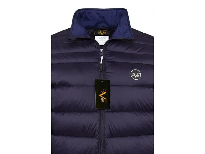 d0b8a78e03 ... Versace 19.69 Kapucnis férfi kabát C49 Navy. SMLXXL