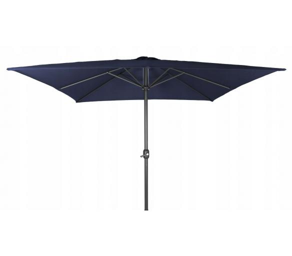 Linder Exclusiv Slunečník čtvercový 250 cm Blue