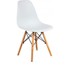 Aga Krzesło skandynawskie nowoczesne White