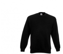 Fruit Of The Loom SET-IN SWEAT Black