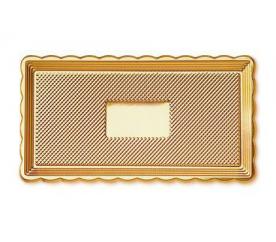 Servírovací tác zlatý  MEDORO 15x35cm - ALCAS - ALCAS