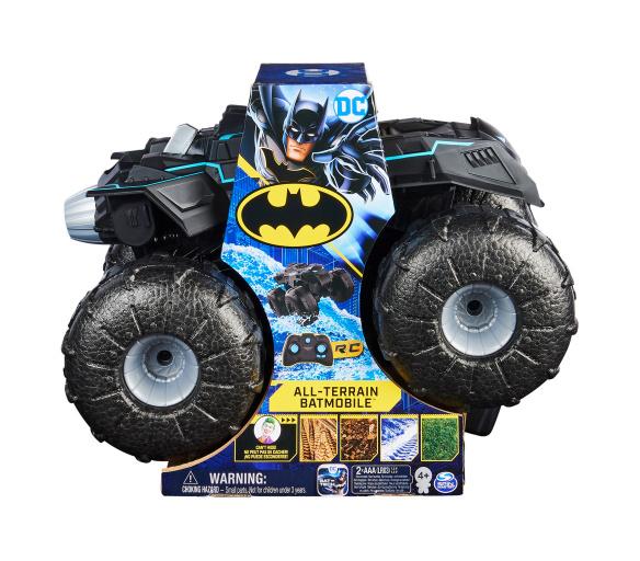 Batman RC Batmobile do terénu a na vodu