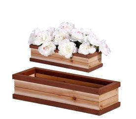 Axi Drewniana doniczka FLOWER BOX