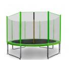 Aga SPORT PRO Trampolína 366 cm Light Green + ochranná síť