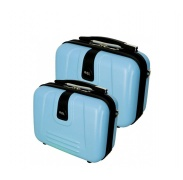 RGL Utazási kozmetikai bőröndök 910 XL,L Azure