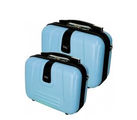 RGL Zestaw kuferków kosmetycznych 910 XL,L Azure