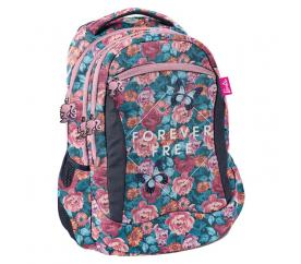 Paso Školní batoh Barbie Flowers